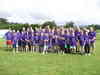 Group photo in our camp t-shirts!!