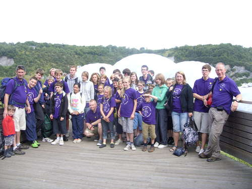 the group at the eden Project